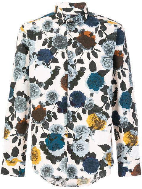 Paul & Joe floral print shirt