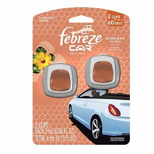 Car freshener! I like Febreeze ones like this but anyone that smells amazingly awesome (NO apple please <3 )