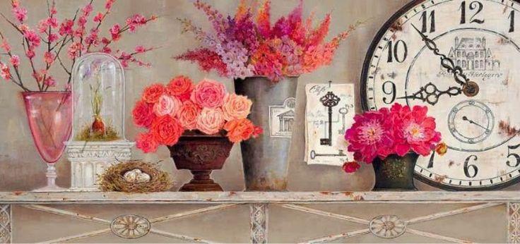 Kathryn-White | British Painter | Decorative Flowers
