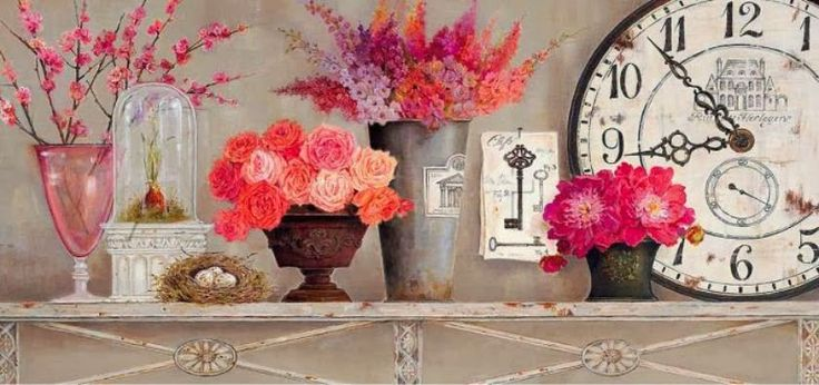 Kathryn-White | British Painter | Decorative Flowers