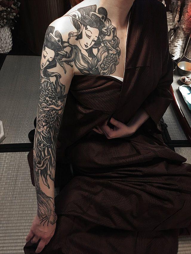 Vidéos tatouages Tatouage traditionnel japonais à Paris. Irezumi, Bunshin, Horimono, Tebori. Dessin sur peau.