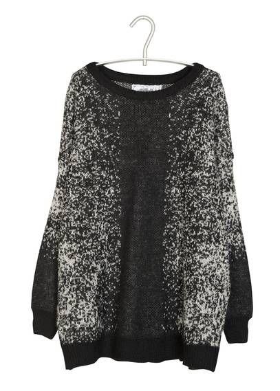 Pull ample Noir SUNCOO FEMME - Boutique en ligne SUNCOO - Collection Automne Hiver 2013/2014 - Place des Tendances. (€69.00) - Svpply