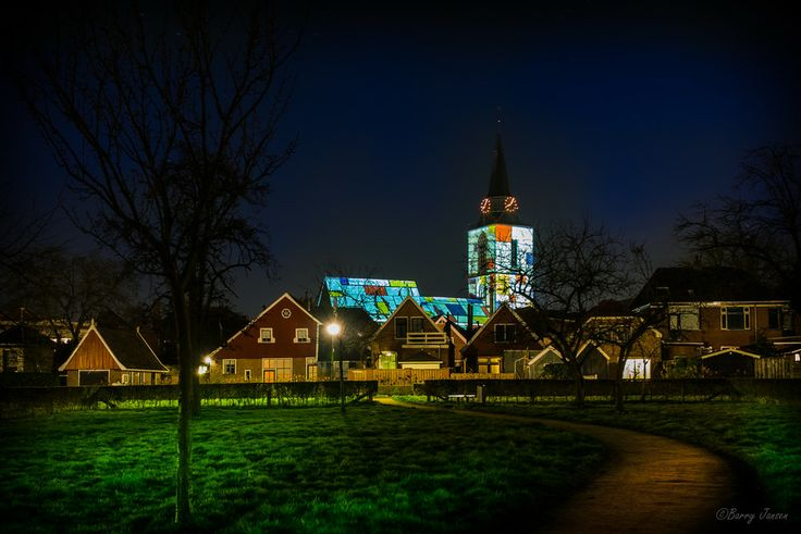 The Night of Pieter Mondriaan by Barry Jansen on 500px