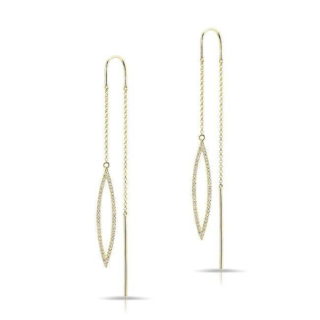39 best Wishbone and Threader Earrings images on Pinterest