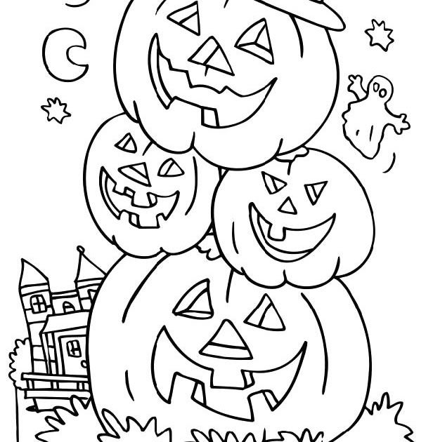 Head Pumpkin In Halloween Night Coloring Pages Halloween Coloring Pa In 2020 Halloween Coloring Pages Printable Halloween Coloring Pages Free Halloween Coloring Pages
