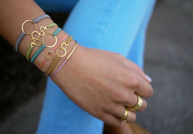Makramee-Armband selber machen …