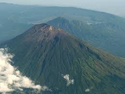 Gunung adalah sebuah bentuk tanah yang menonjol di atas wilayah sekitarnya. Sebuah gunung biasanya lebih tinggi dan curam dari sebuah bukit, tetapi ada kesamaaan, dan penggunaan sering tergantung dari adat lokal.