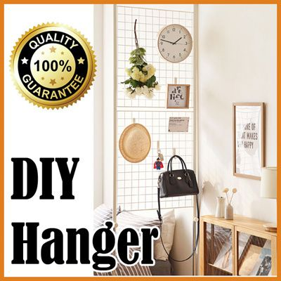 [S$83.90](▼10%)Multi purpose partition/ Multi hanger/ Wall hanger/ Metal hanger/Stand hanger/Slim hangers/Dress/Hat hanger/ Bag hanger/ Made in korea