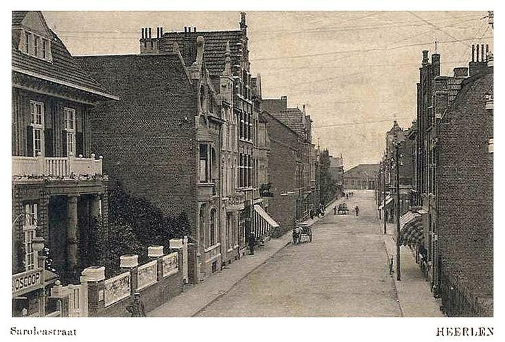 Saroleastraat. rond 1915. Heerlen.