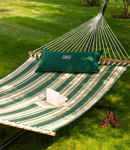 I've always wanted a hammock to sit & read in on nice days