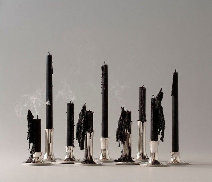 Ted Muehling Silver Candlestick/Remodelista
