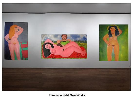 Francisco Vidal New Works -