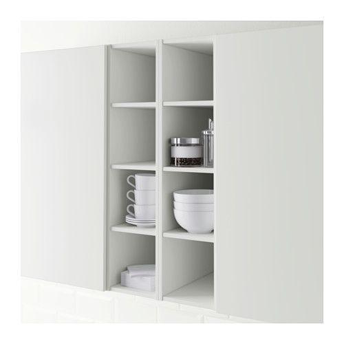 ХОРДА Открытый шкаф - 20x37x80 см, белый - IKEA