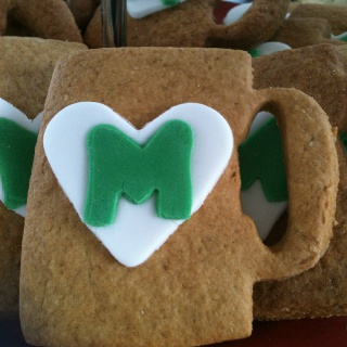 We created these cookies for our Macmillan fundraiser - World's Biggest Coffee Morning