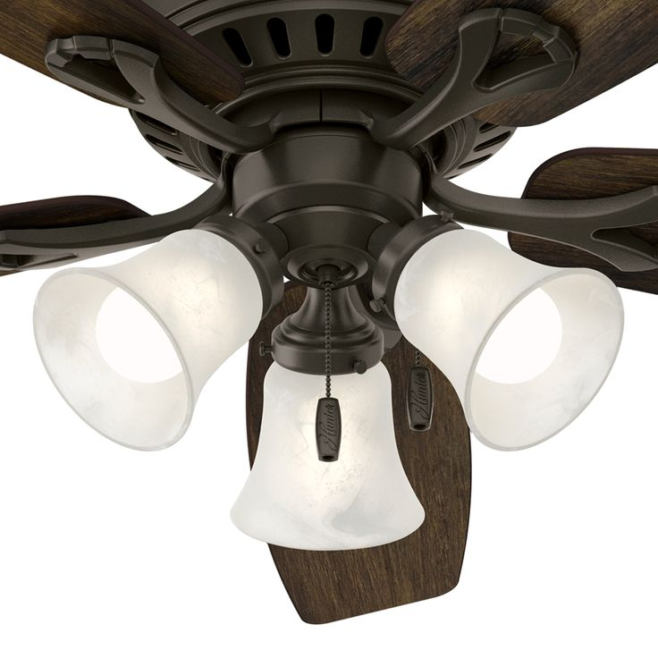 9 best ceiling fans images on pinterest hunter 52 bronze traditional ceiling fan with swirled marble glass light kit certified refurbished mozeypictures Choice Image