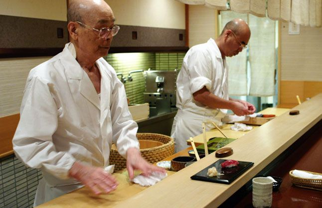 "The Rules of Sushi from David Gelb, director of Jiro Dreams of Sushi. Excerpt: ""Don't ever mix your wasabi into your soy sauce. It may not   get you kicked out, but the chef is always watching to see if you know   how to behave--and will adjust your meal accordingly."""