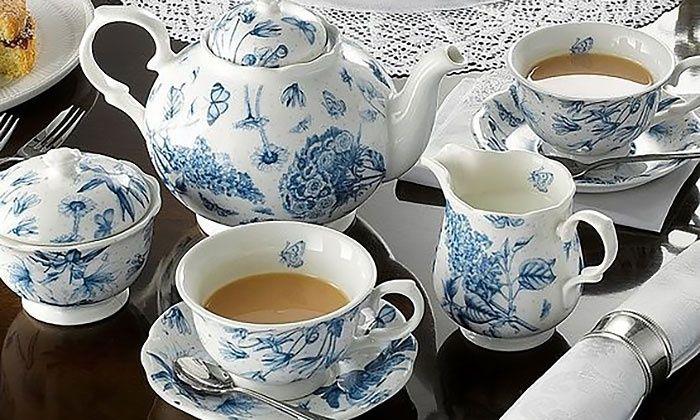 Portmeirian Botanic Blue set