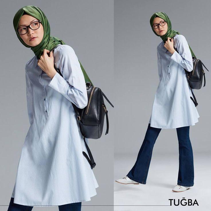 Rahat ve cool duruşun vazgeçilmez parçası H1008 Tuğba Tunik çok yakında tüm Tuğba mağazalarında www.tugbaonline.com 'da!