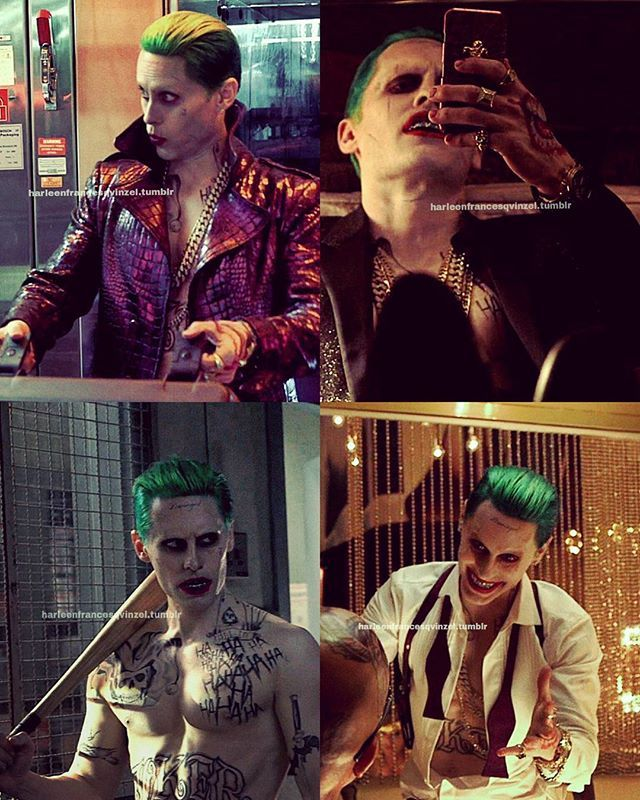 Jared Leto as The Joker on the set of Suicide Squad (2016) #thejoker #suicidesquad #jaredleto