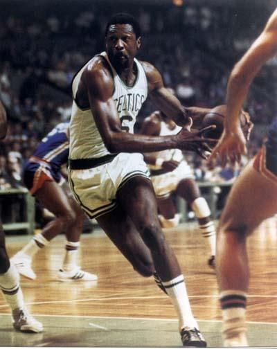 It's great that Boston finally honored Bill Russell with a statue ...