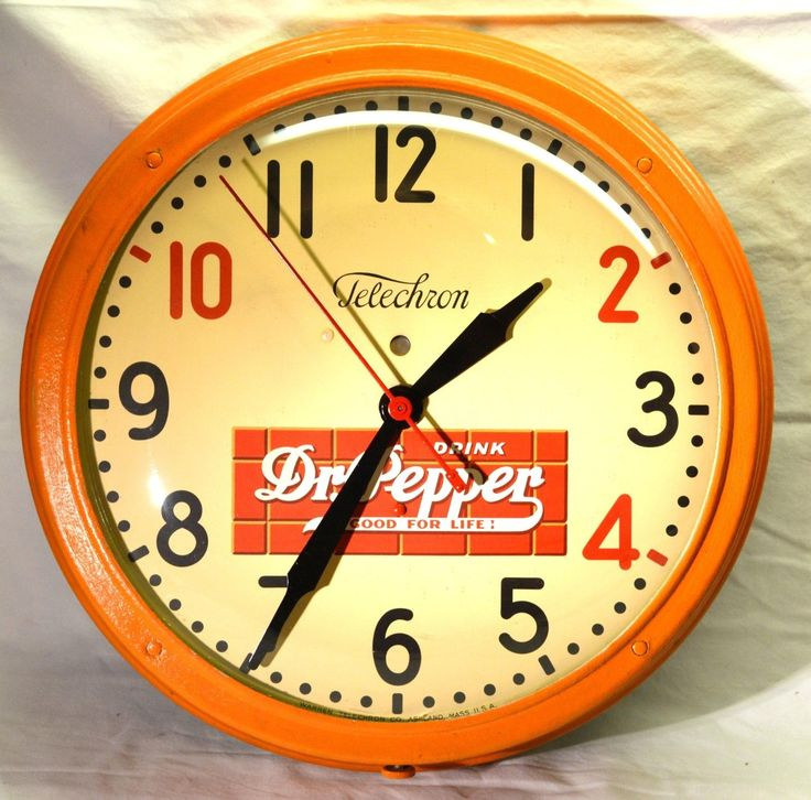 470 Best Advertising Clocks Images On Pinterest Gas