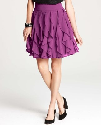 Ruffle Tiered Skirt (from Ann Taylor)