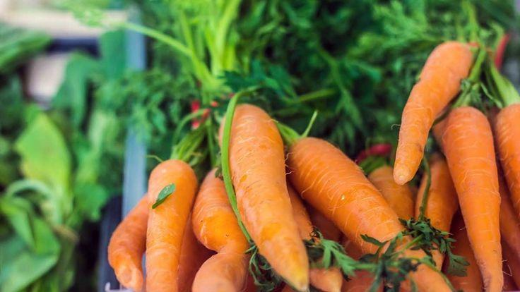 Carote fresche biologiche, ricette cocktail con succo di carota biologico, vegan