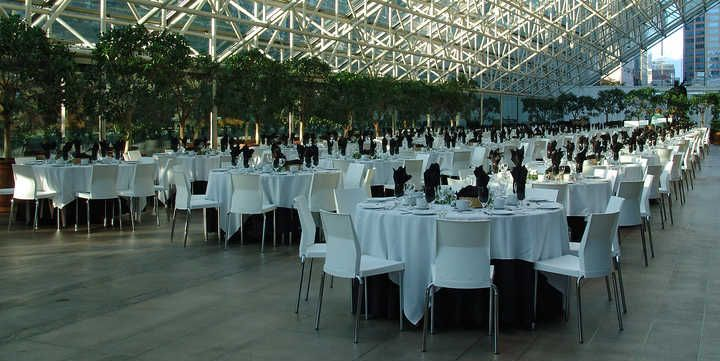 another example - cleaner lines without chair covers