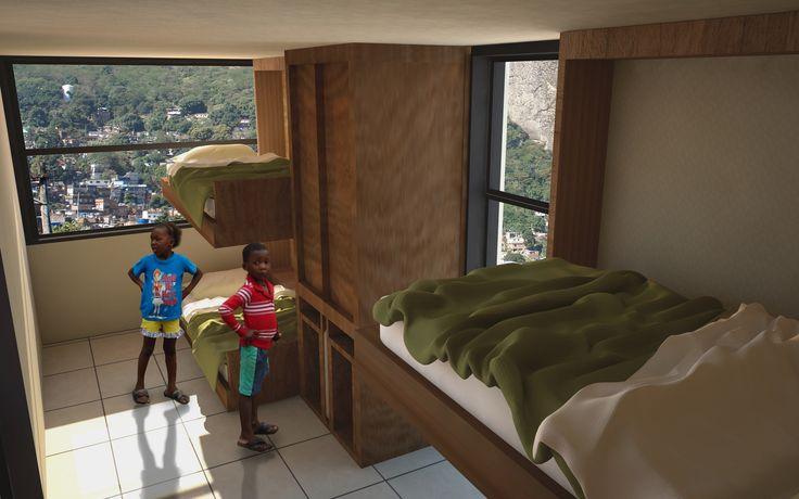 Vivienda Favela compacta
