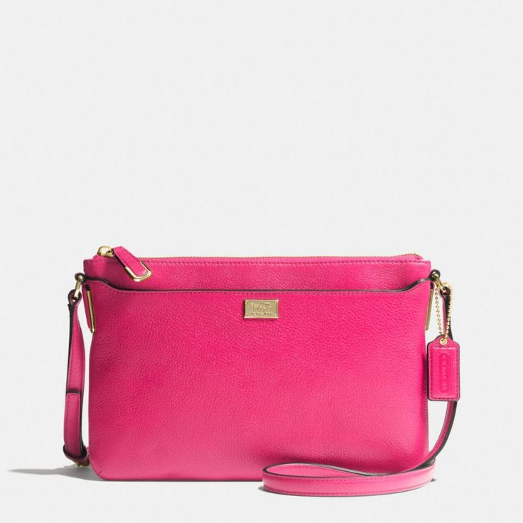 The Swingpack In Leather from Coach  LOVE the color!!