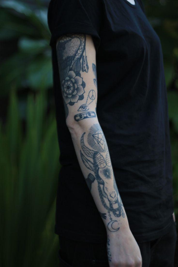 tattoo   t a t t o o • m e n   Pinterest Uberhaxornova Tattoo Sleeve