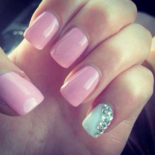 1000+ Ideas About Gender Reveal Nails On Pinterest