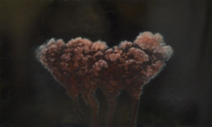 Eero  Viitanen, Death Row, 122 x 200, Oil on hardboard
