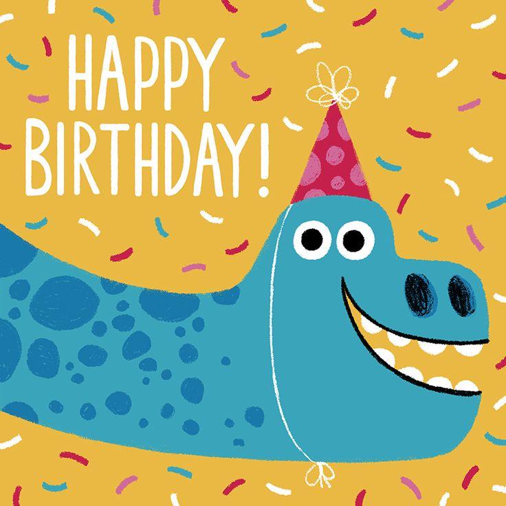 Dinosaur birthday card dinosaur cards birthday