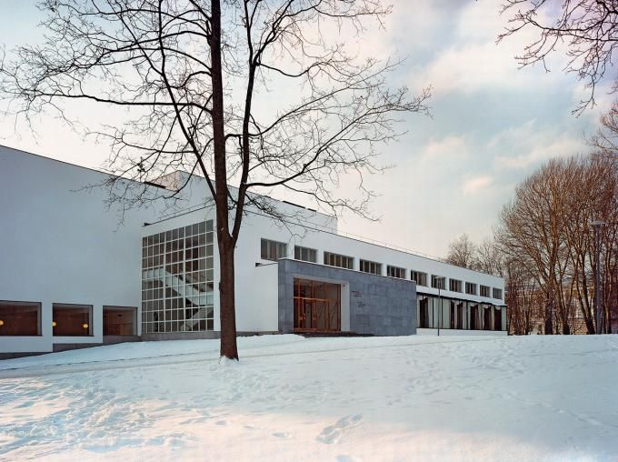 The Central City Alvar Aalto Library, Vyborg. Image Courtesy of The Finnish Committee for the Restoration of Viipuri Library. Click above to see larger image.