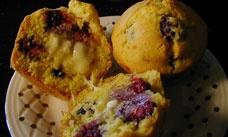 Glutenfreeda.com: Blackberry Cornmeal Muffins | GF Kitchen: Muffins ...