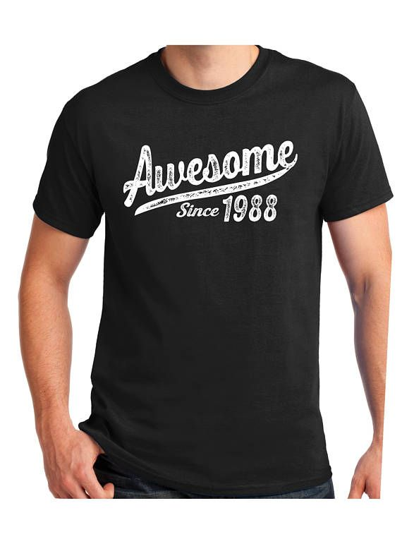Awesome Since 30th Birthday Gift T Shirt Turning30
