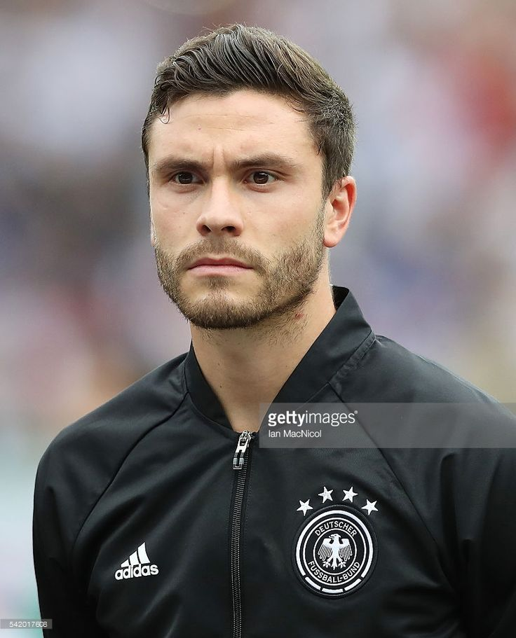 Jonas Hector of Germany looks on during the UEFA EURO 2016 Group C match between Northern Ireland and Germany at Parc des Princes on June 21, 2016 in Paris, France.