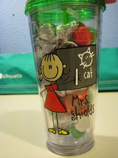 Personalized Teacher Tumbler. Teacher Gift