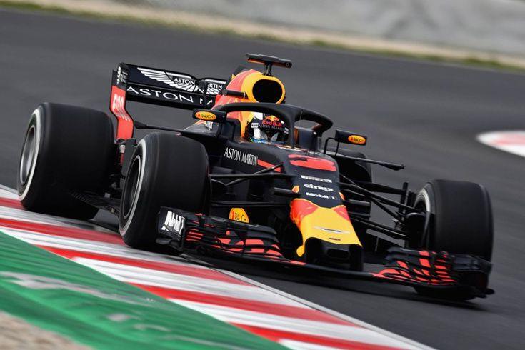 レッドブル、ダニエル・リカルドが最多周回数&最速タイムの好スタート  [F1 / Formula 1]