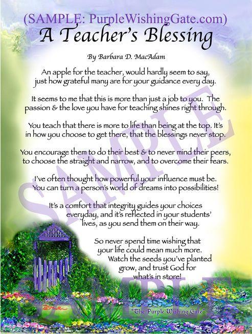 essay about teacher retirement poem