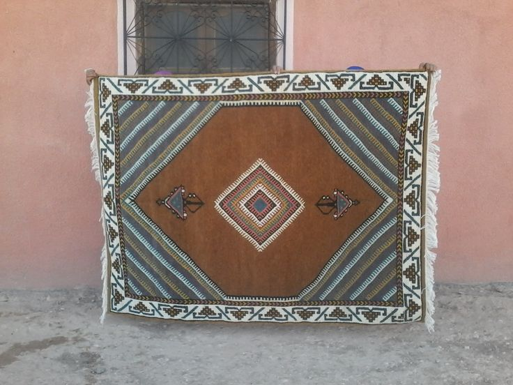 pile: Zerbya Uniquely handmade by artisans Crafted by Association Afous Gafous from Ouarzazate, Morocco. Ships to USA and Europe Qty: 1