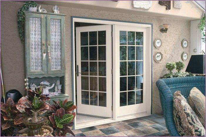 french patio doors with doggie door