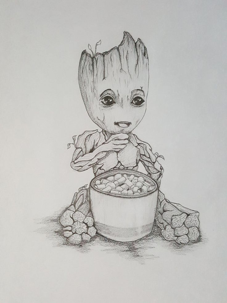Baby Groot Coloring Page Printable K5 Worksheets Baby