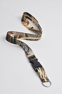 Realtree Max 4 Camo Neck Lanyard with Detachable Key Ring $8.95