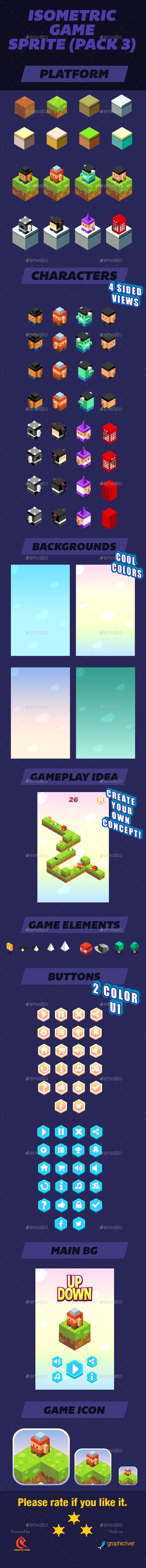 Isometric #Game - Game Kits Game Assets Download here: https://graphicriver.net/item/isometric-game/17073269?ref=alena994