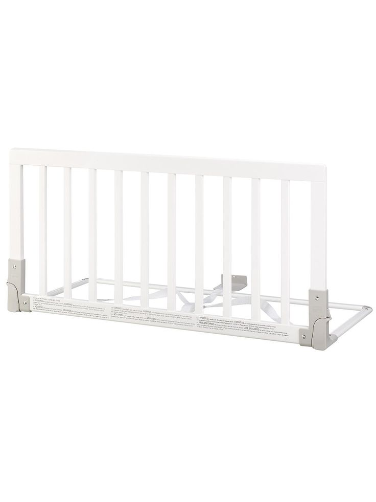 Babydan Wooden Bed Guard Rail White In 2020 Bed Guard Rails