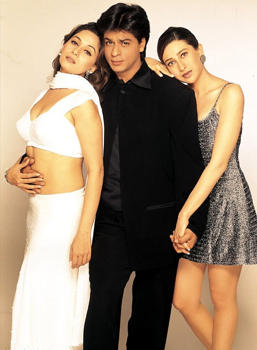 """""""Dil To Pagal Hai"""" (1997) Cast: Madhuri Dixit-Nene & SRK & Karisma Kapoor"""