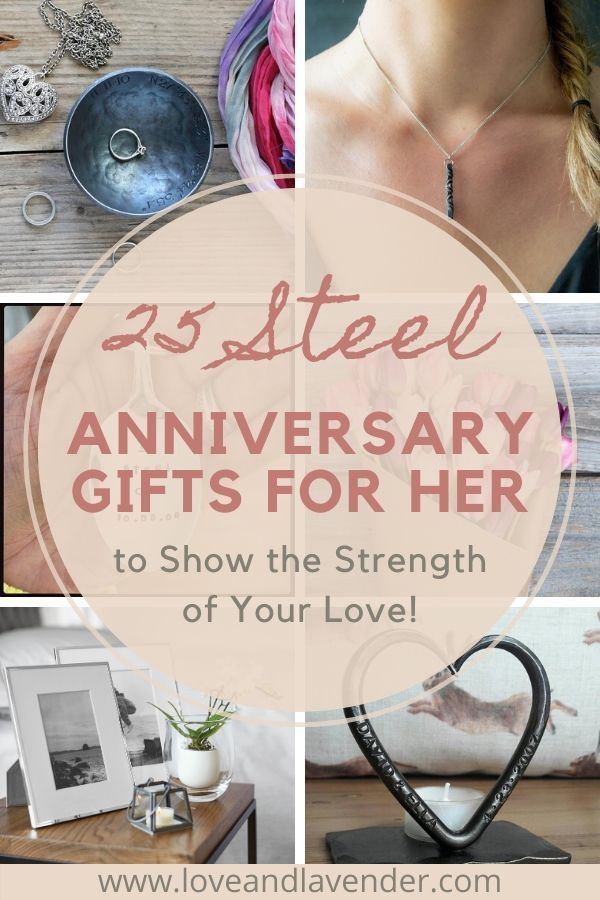 25 Steel Anniversary Gifts 11th Year To Show The Strength Of Your Love Steel Anniversary Gifts 11th Anniversary Gifts Anniversary Gift For Her