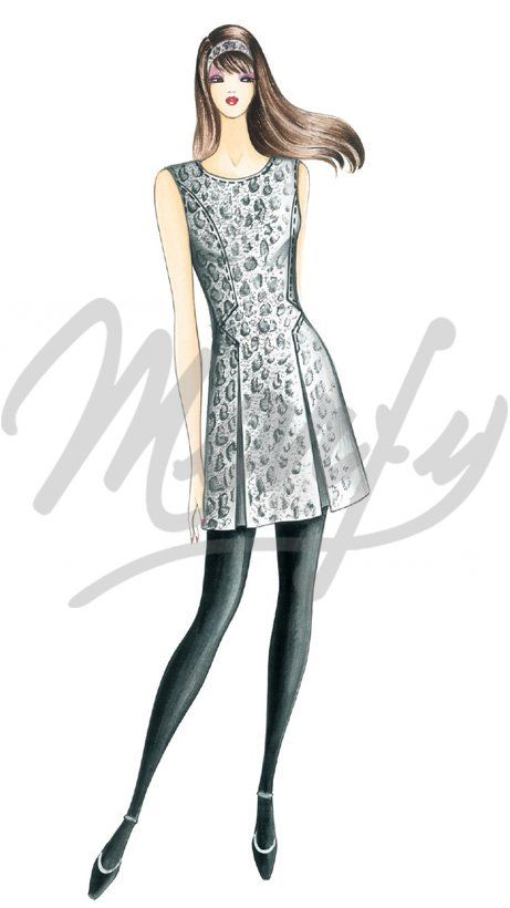 Our Patterns :: Marfy Collection 2016/2017 :: Sewing pattern 3997 -